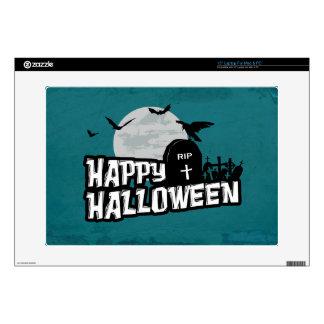 "Happy Halloween Skin For 15"" Laptop"