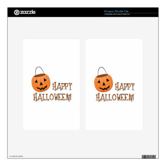 Happy Halloween Skin For Kindle Fire