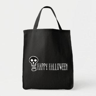 Happy Halloween Skull 1 Canvas Bag