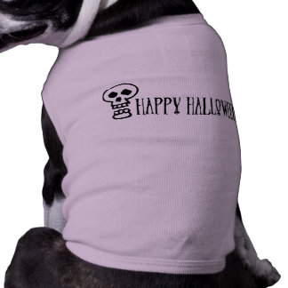 Happy Halloween Skull 1 Dog Shirt