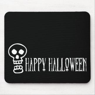 Happy Halloween Skull 1 Mouse Pad