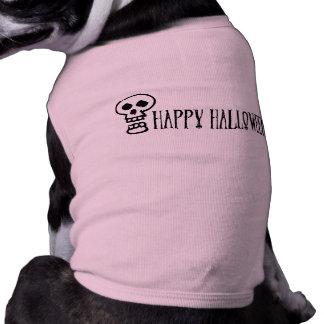 Happy Halloween Skull 1 Pet Clothes