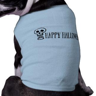 Happy Halloween Skull 1 Pet Shirt