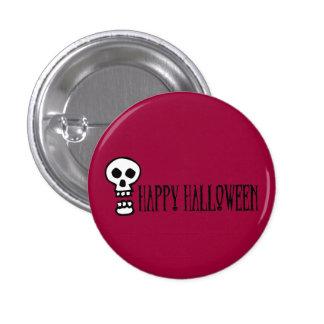 Happy Halloween Skull 1 Pin