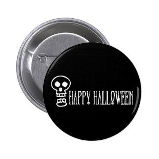 Happy Halloween Skull 1 Pins
