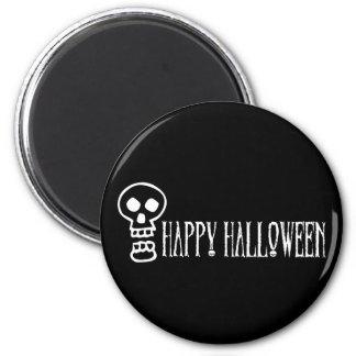 Happy Halloween Skull 1 Refrigerator Magnet