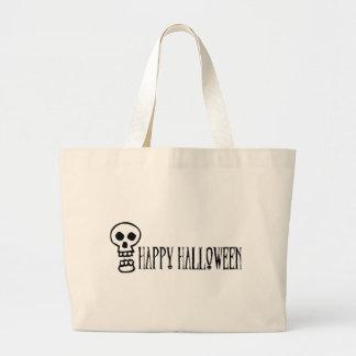 Happy Halloween Skull 1 Tote Bag