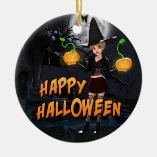 Happy Halloween Skye Ornament