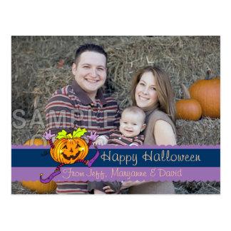 Happy Halloween Smiles Postcard