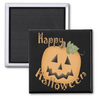 Happy Halloween Smiling Jack O'Lantern Magnets