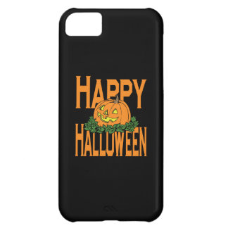 Happy Halloween Smiling Pumpkin Case For iPhone 5C