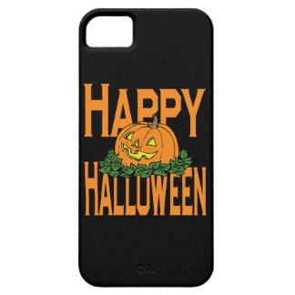 Happy Halloween Smiling Pumpkin iPhone SE/5/5s Case