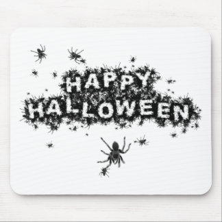 Happy Halloween Spelling Spiders Mouse Pad