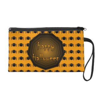 Happy Halloween Spider Wristlet
