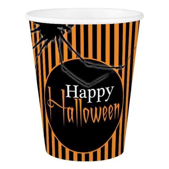 Happy Halloween Spider Cup