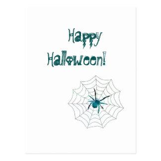 Happy Halloween Spider! Postcard