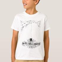 happy halloween.spider T-Shirt