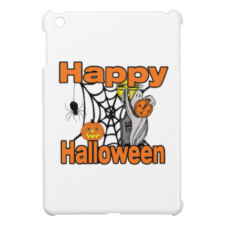 Happy Halloween Spider Web Ghost iPad Mini Case