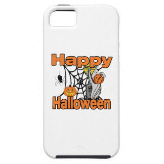 Happy Halloween Spider Web Ghost iPhone SE/5/5s Case