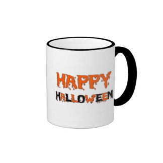 Happy Halloween spooky mugs