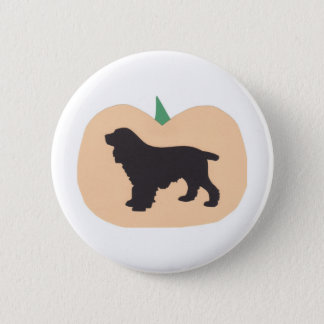 Happy Halloween Springer Spaniel Pinback Button