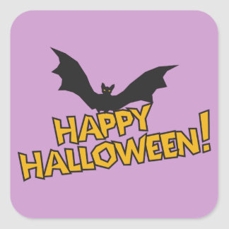 Happy Halloween! Square Sticker
