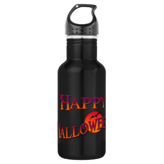 Happy Halloween Stainless Steel Water Bottle