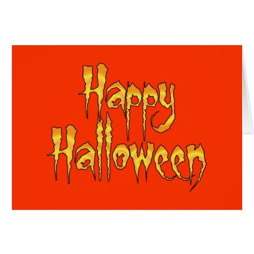 Happy Halloween Stationery Note Card