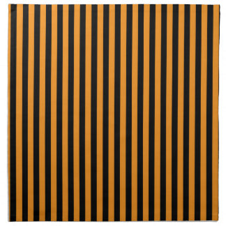 Happy Halloween Stripes Cloth Napkin