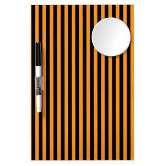 Happy Halloween Stripes Dry Erase Whiteboards
