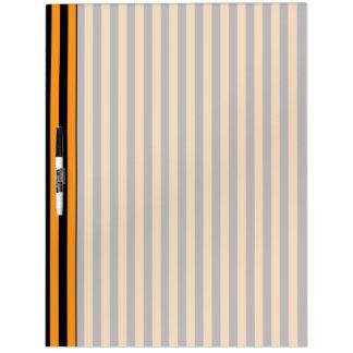 Happy Halloween Stripes Dry-Erase Whiteboards