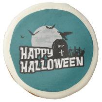 Happy Halloween Sugar Cookie