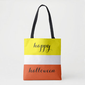 Happy Halloween Sweet Candy Corn Tote Bag