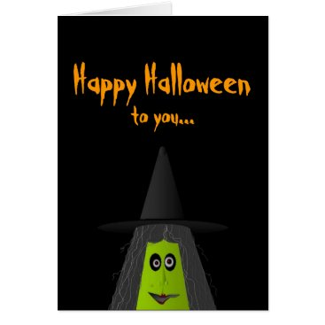 Halloween Themed Happy Halloween to you Card
