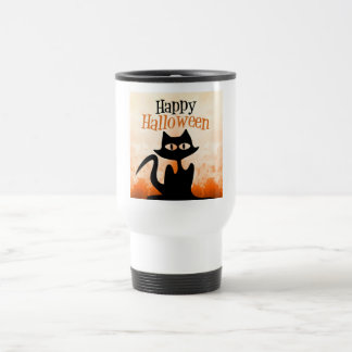 Happy Halloween Travel Mug