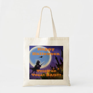 Happy Halloween Trick or Treat BAG!! Budget Tote Bag