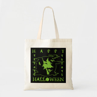 Happy Halloween! Trick or Treat! Bag 5 Green