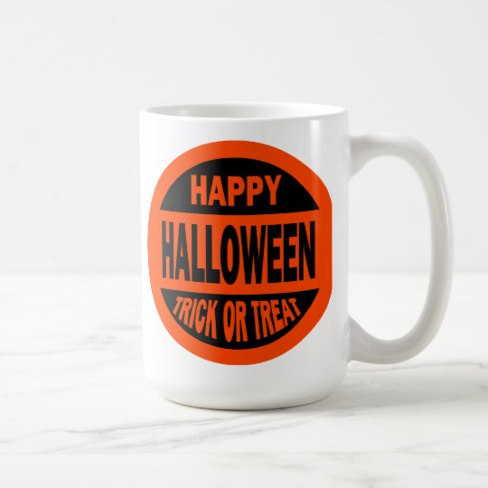 Happy Halloween Trick or Treat Coffee Mug