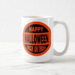 Happy Halloween Trick or Treat Coffee Mugs