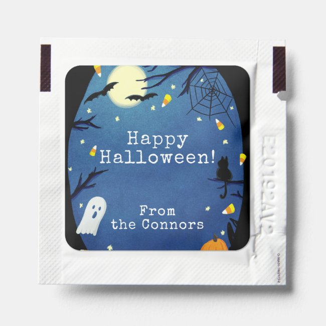Happy Halloween Trick or Treat Favors Hand Sanitizer Packet