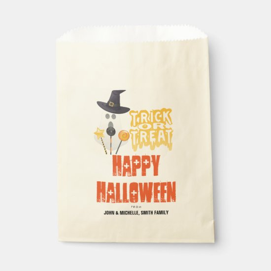 Happy Halloween Trick or Treat Goodie Bag