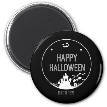 Halloween Themed Happy Halloween Trick Or Treat Magnet