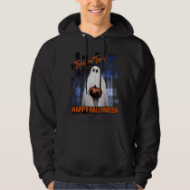 HAPPY HALLOWEEN TRICK OR TREAT MEN'S HOODIE