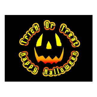 Happy Halloween . . . Trick or Treat Post Cards