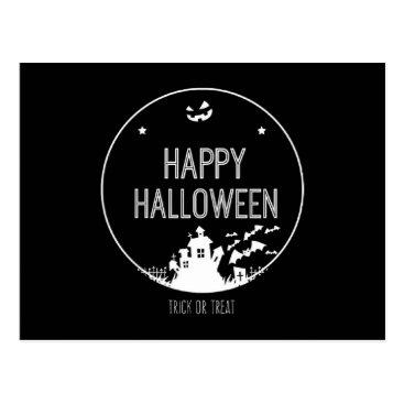 Halloween Themed Happy Halloween Trick Or Treat Postcard