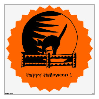 Happy Halloween, Trick or Treat. Wall Sticker