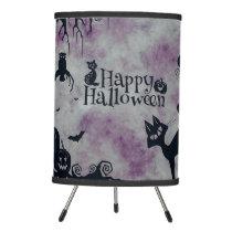 Happy Halloween Tripod Lamp