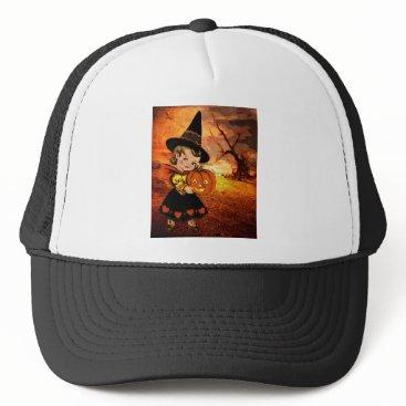 Halloween Themed HAPPY HALLOWEEN TRUCKER HAT