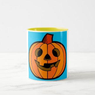 Happy Halloween! Two-Tone Coffee Mug