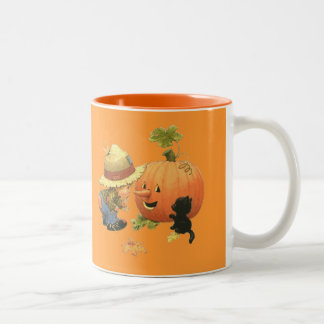 Happy Halloween - Two-Tone Coffee Mug
